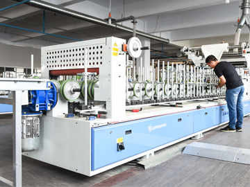 PVC Wrapping Machine