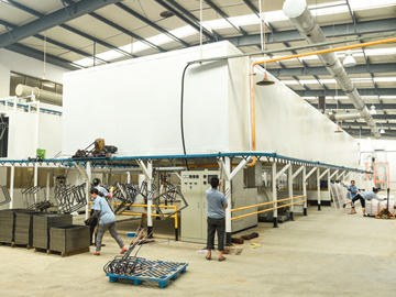 AUTO Powder Coating Line